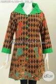 Toko Busana Batik Online, Baju Batik Halus Modern Nan Mewah Bahan Adem Proses Printing Buatan Solo Harga 155K [BLS5855P-L]