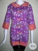 Baju Batik Model Modern Dan Terkini Untuk Wanita Kerja Bank [BLS622C-L]
