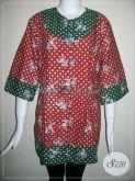 Baju Batik Wanita Ukuran XXL Jumbo Besar Big Size [BLS639C-XXL]