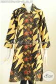 Baju Batik Atasan Wanita Murah, Blus Batik Modern Yang Cocok Untuk Santai Dan Resmi Motif Terkini Harga 195 Ribu Proses Kombinasi Tulis [BLS6761BT-L]