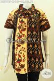 Baju Batik Atasan Wanita Terbaru, Pakaian Batik Klasik ELegan Desain Modern Nan Mewah, Tampil Bergaya Dan Istimewa Hanya 140K [BLS7728P-M]