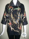 Blus Batik Model Terkini Asli Batik Tulis Solo [BLS841T-M]