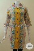 Dress Batik Modern Untuk Perempuan Cantik, Modis Dan Aktif [DR2856P-M]
