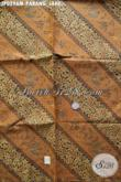 Kain Batik Elegan Motif Parang Jahe, Batik Halus Bahan Jarik Nan Istimewa Proses Printing Harga Murmer [JP029AM-240x105cm]
