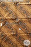 Kain Batik Klasik Berkelas Motif Parang Kusumo Seling, Batik Halus Proses Printing Pas Buat Jarik [JP035AM-240x105cm]