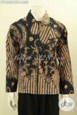 Sedia Pakaian Batik Jaket Motif Klasik Lengan Panjang Pake Furing, Produk Berkelas Untuk Pria Tampil Istimewa [JT10236YBTF-L]