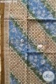 Produk Kain Batik Terbaru Tahun Ini, Batik Modern Motif Klasik Dengan Kombinasi Warna Trendy Bahan Pakaian Berkelas Tampil Terlihat Mewah [K2354DBC-200x110cm]