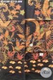Kain Batik Halus Proses Kombinasi Tulis, Batik Kain Jokowi Bahan Aneka Busana Formal Dan Santai Penunjang Penampilan Lebih Elegan Proses Kombinasi Tulis [K2455BT-200x110cm]