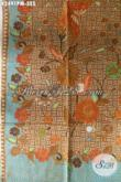 Batik Solo Halus, Kain Batik Istimewa Untuk Baju Kerja Dan Kondangan, Batik Kombinasi Tulis Buatan Solo Kwalitas Premium Harga Grosir [K2491PM-240x110cm]