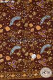 Kain Batik Terbaru Yang Modis Untuk Busana Pria Maupun Wanita, Hadir Dengan Kwalitas Bagus Dan Adem Yang Nyaman Di Pakai Di Cuaca Panas Proses Cap Tulis [K2562CT-200x110cm]