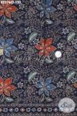 Batik Kain Bahan Hem, Produk Batik Solo Cap Tulis Dasar Biru Kwalitas Bagus Di Jual Online Harga 125K [K2576CT-200x110cm]