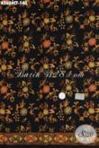 Jual Online Kain Batik Cap Tulis, Batik Modern Dengan Warna Elegan Bahan Baju Santai Buat Jalan-Jalan Proses Cap Tulis [K2604CT-200x110cm]