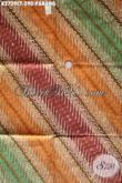 Jual Produk Kain Batik Klasik Motif Parang, Batik Halus Kwalitas Premium Bahan Aneka Busana Wanita Dan Pria Harga 290K [K2729CT-240x110cm]