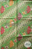 Koleksi Terbaru Kain Batik Bahan Blus Wanita, Batik Printing Halus Motif Elegan Cocok Juga Buat Hem [K2756P-200x110cm]