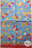 Produk Kain Batik Kekinian, Batik Printing Halus Kwalitas Istimewa Bahan Busana Wanita Motif Kupu Hanya 80 Ribuan Saja [K2830P-240x105cm]