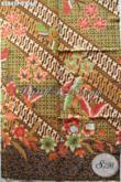 Batik Kain Printing Motif Elegan Buatan Solo Asli, Batik Klasik Modern Bahan Busana Wanita Dan Pria Harga 65K [K2845P-200x110cm]