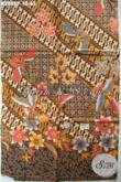 Produk Kain Batik Terkini, Batik Printing Halus Motif Modern Klasik Halus Cocok Untuk Baju Formal Nan Elegan [K2848P-200x110cm]
