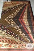 Sedia Kain Batik Solo Klasik, Batik Sinaran Proses Tulis Bahan Pakaian Wanita Pria Untuk Penampilan Lebih Berkelas [K2853TSM-200x110cm]