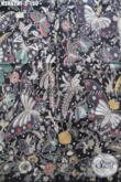 Batik Halus Mewah Motif Kupu, Batik Modis Bahan Pakaian Istimewa Proses Kombinasi Tulis Bikin Penampilan Lebih Berkelas [K2862BT-240x110cm]