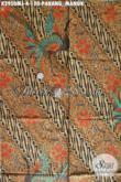 Bisnis Batik Solo Online, Sedia Kain Batik Elegan Kombinasi Tulis Motif Parang Manuk Untuk Jarik Harga 120K [K2950MJ-240x105cm]
