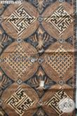 Batik Klasik Elegan, Kain Batik Mewah Buatan Solo Proses Tulis Soga Bahan Pakaian Berkelas Dan Premium Harga 650K [K2982TS-240x110cm]