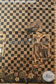 Kain Batik Tulis Premium Solo Motif Wayang Arjuna, Batik Mewah Bahan Kemeja Pejabat Dan Eksekutif, Penampilan Lebih Berwibawa [K3057T-240x105cm]