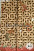 Fesyen Kain Batik Buatan Solo, Batik Halus Proses Printing Motif Berkelas, Bahan Pakaian Kerja Untuk Penampilan Lebih Sempurna [K3075P-200x115cm]