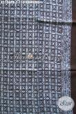 Batik Klasik Bahan Paris Motif Kawung Proses Cap, Kain Batik Elegan Untuk Kemeja Formal Pria Muda Dan Dewasa Yang Istimewa [K3106PR-180x110cm]
