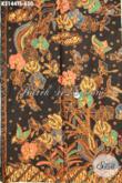 Agen Batik Online Paling Up To Date, Sedia Batik Premium Solo Istimewa Proses Tulis Soga Motif Klasik Nan Mewah Hanya 650 Ribu [K3144TS-240x110cm]