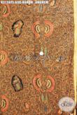 Produk Terbaru Kain Batik Premium Motif Klasik Babon Angrem, Kain Batik Solo Mewah Tulis Soga, Pas Banget Untuk Pakaian Formal Para Pejabat Dan Eksekutif [K3156TS-240x110cm]