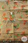 Kain Batik Elegan Motif Kupu, Batik Printing Solo Terkini Kwalitas Istimewa Hanya 65K, Pas Untuk Busana Kerja [K3161P-200x115cm]