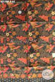 Kain Batik Bahan Kemeja Pria, Batik Halus Untuk Blus Cewek, Kwalitas Istimewa Dengan Harga Biasa [K3170P-200x115cm]