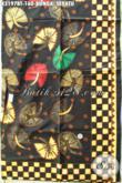 Kain Batik Motif Bunga Sepatu, Batik Kombinasi Tulis Yang Cocok Untuk Kemeja Kerja Dan Santai, Batik Unik Bahan Blus Dan Dress Wanita Masa Kini [K3197BT-240x115cm]