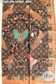 Toko Online Produk Batik Solo Terlengkap, Sedia Batik Modern Klasik Proses Tulis Motif Cuwiri Kupu Cocok Untuk Pakaian Kerja Dan Acara Resmi [K3239T-240cmx110cm]