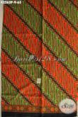 Motif Batik Kain Terbaru, Batik Klasik Printing Khas Jawa Tengah Untuk Busana Formal, Penampilan Berkelas Dan Menawan [K3263P-200x115cm]