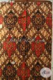 Produk Kain Batik Solo 2020, Batik Halus Proses Printing Bahan Busana Resmi Nan Elegan Hanya 65K [K3270P-200x115cm]