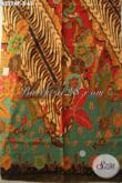 Kain Batik Motif Kekinian, Batik Halus Mewah Proses Printing Harga 65K, Cocok Banget Untuk Kemeja Kerja Pria Kantoran [K3274P-200x115cm]