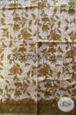 Kain Batik Solo Bahan Busana Kerja Dan Santai Motif Bagus Kwalitas Istimewa Dengan Harga Biasa, Menunjang Penampilan Makin Sempurna [K3356PB-240x110cm]