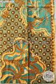 Koleksi Kain Batik Jawa Tengah Terkini, Batik Tulis Asli Buatan Solo Motif Wayang Kwalitas Istimewsa, Cocok Untuk Baju Kerja Pria Kantoran [K3379T-240x105cm]