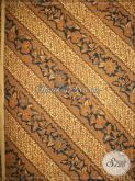 Kain Panjang Batik Jawa, Bahan Jarik Klasik Corak Parang Kusumo (Seling Kembang) [KJ003AM]
