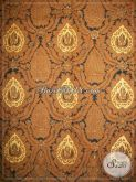 Jual Batik Bokor Mas (Kencono) Warna Sogan Solo, Batik Jawa Klasik Lawasan [KJ029AM]
