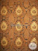 Jual Batik Bokor Mas (Kencono) Warna Sogan Solo, Batik Jawa Klasik Lawasan [KJ029AM]