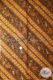 Bahan Jarik Solo, Kain Panjang, Batik Corak Klasik Parang Motho Pithik [KJ040AM-240×110 cm]