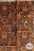 Batik Klasik Mewah Halus Motif Srikaton, Batik Kain Bahan Baju Formal Wanita Dan Pria Untuk Rapat Dan Kondangan [KJ058AM-240 x 110 cm]