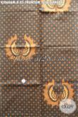 Batik Kain Klasik Bahan Jarik, Batik Lawasan Motif Truntum Giu Garuda Proses Kombinasi Tulis Harga Terjangkau [KJ060AM-240x105cm]