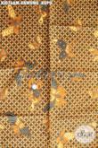Batik Solo Istimewa Halus Mewah Motif Kawung Kupu, Produk Batik Kombinasi Tulis Di Jual Online Kurang Dari 100 Ribuan [KJ076AM-240x105cm]