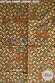 Sedia Kain Batik Klasik Bahan Jarik, Batik Halus Motif Slobok Godong Kates Kwalitas Istimewa Proses Kombinasi Tulis Harga Terjangkau [KJ077AM-240x105cm]