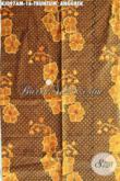 Batik Halus Motif Truntum Anggrek, Batik Jawa Klasik Khas Solo, Batik Bahan Jarik Elegan Dan Mewah [KJ097AM-240x105cm]