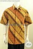 Jual Hem Batik Jumbo, Kemeja Batik Pria Gemuk Motif Parang Klasik Yang Cocok Buat Kerja Dan Kondangan Harga 145K Proses Printing [LD10070P-XXXL]