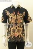 Model Baju Batik Pria Muda Untuk Tampil Gaya Dan Mempesona, Busana Batik Hem Lengan Pendek Proses Tulis Hanya 155K [LD10295T-M]